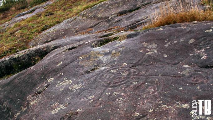 Petroglifos de tipo geométrico