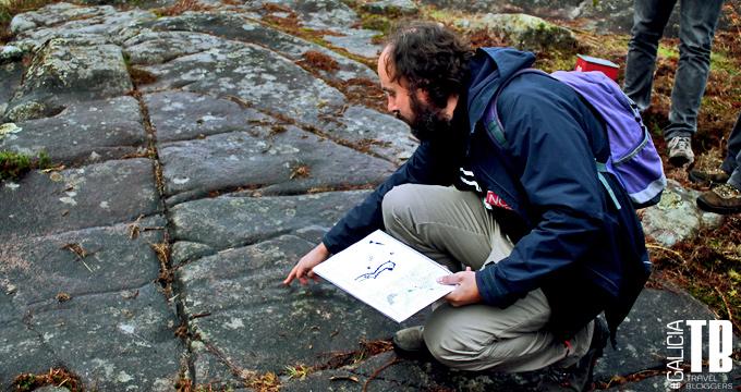 Analizando el posible significado de un petroglifo en Tourón