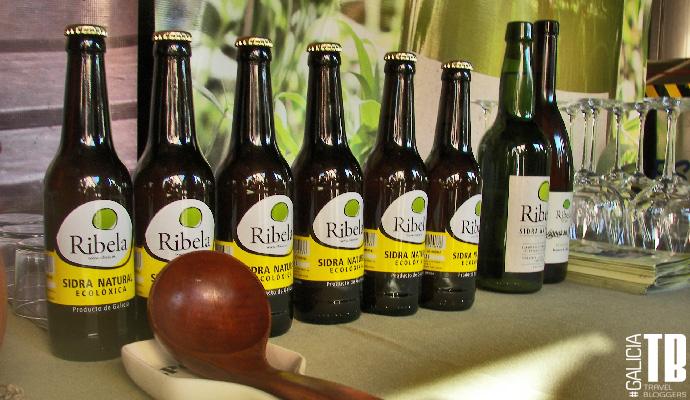 Una pequeña muestra de los excelentes productos del Lagar de Ribela