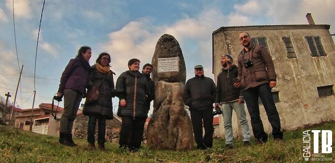 Bloggers de GaliciaTB en el Couto Mixto junto con Cesáreo