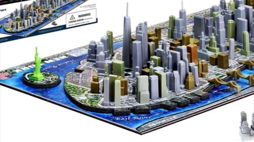 Puzzle Nueva York 4D