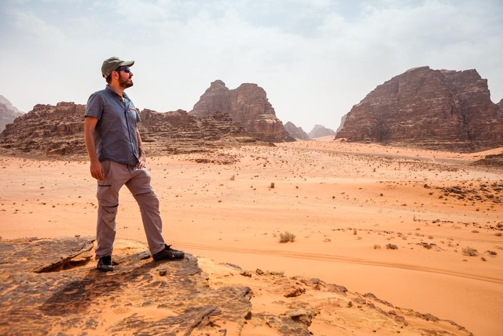 Desierto de Wadi Rumby machbel