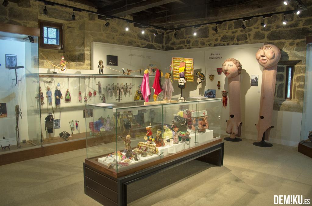 Museo de marionetas en el Pazo de Liñares