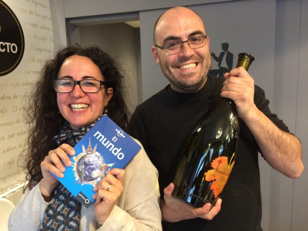 Sabela y Miguel, algunos de los ganadores de nuestros sorteos