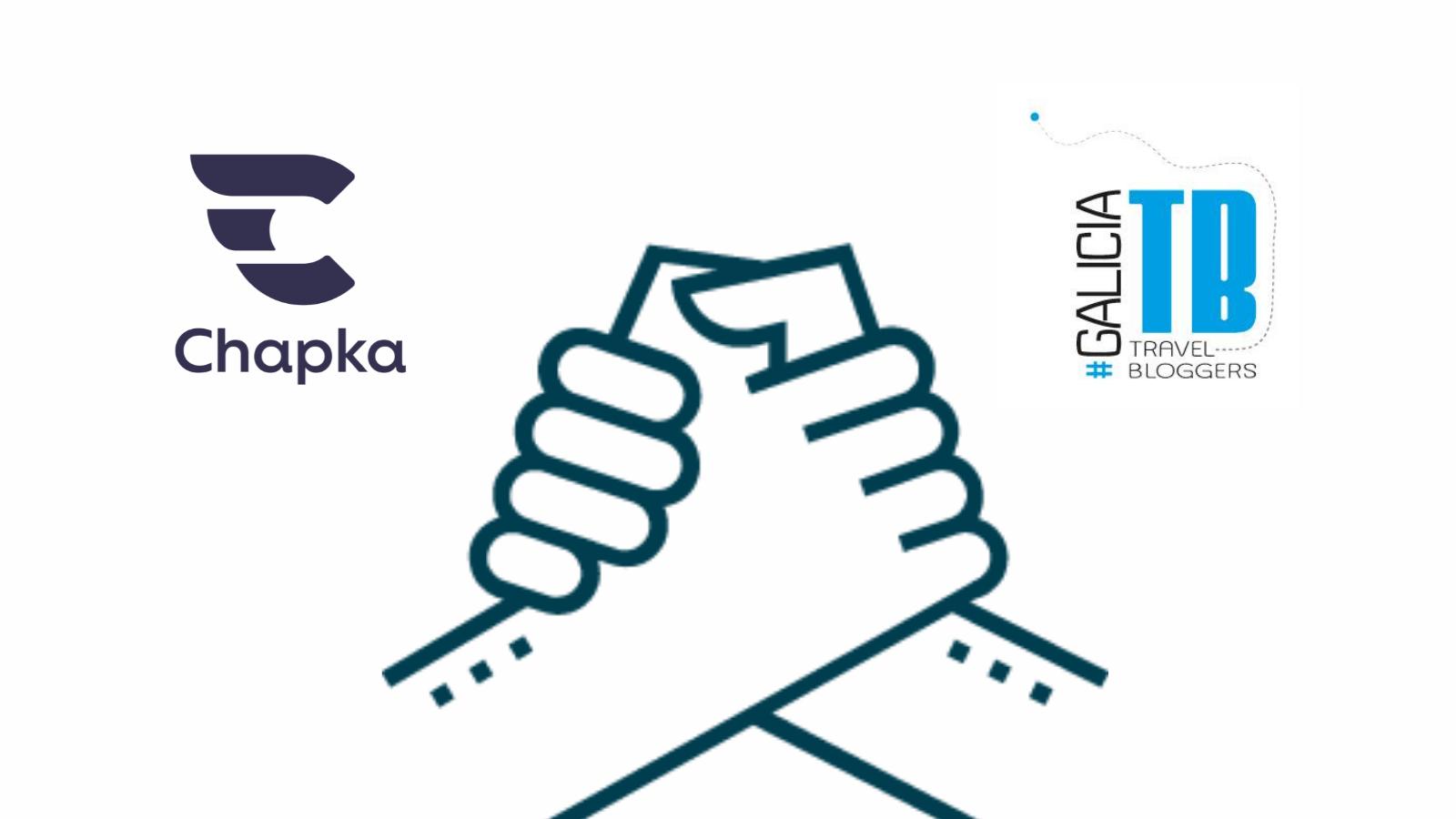 renovación acuerdo Chapka Asociación de Bloggers de Viajes de Galicia